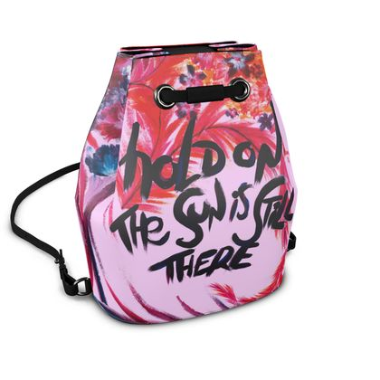 BUCKET BACKPACK  | Candy bloom |