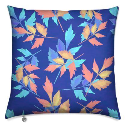 Cushions, Blue, Orange, Leaf  Slipstream  Almost Winter