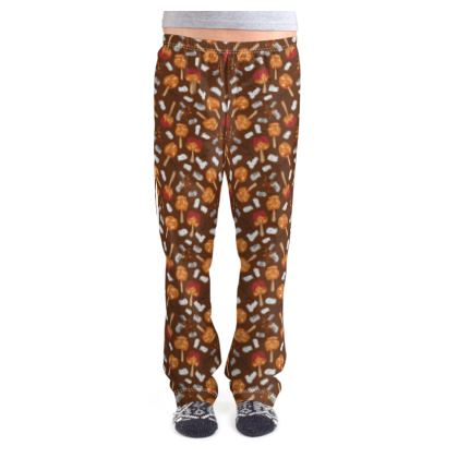 Candy Apples and Marshmallows [CHOCOLATE BROWN] Ladies Pyjama Bottoms