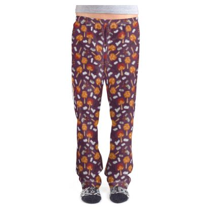Candy Apples and Marshmallows [DUSK PURPLE] Ladies Pyjama Bottoms