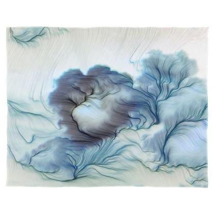 'The Dreamer' Glitch Scarf Wrap or Shawl