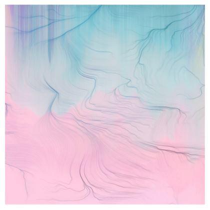 'Half of Me' Pastel Glitch Handbag