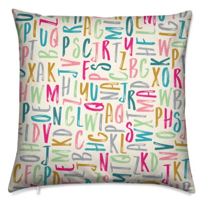 Alphabet ABC Cushions