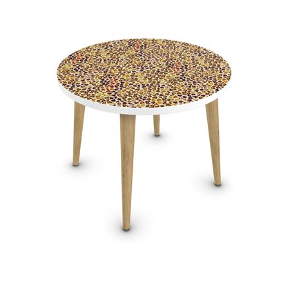 Leopard Skin Collection Coffee Table