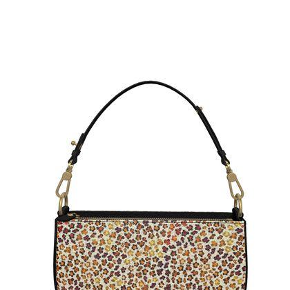 Leopard Skin Collection Zip Box Bag