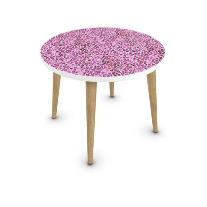 Leopard Skin in Magenta Collection Coffee Table