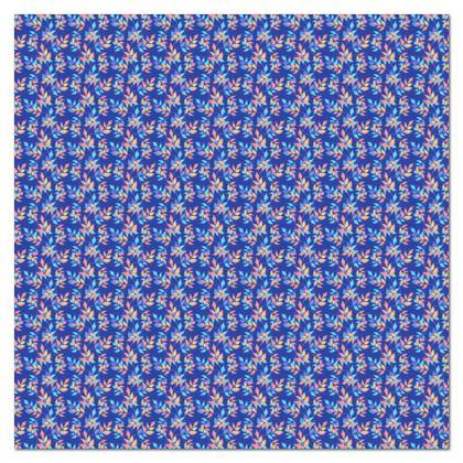 Tablecloth, Blue, Orange, Leaf  Slipstream  Almost Winter
