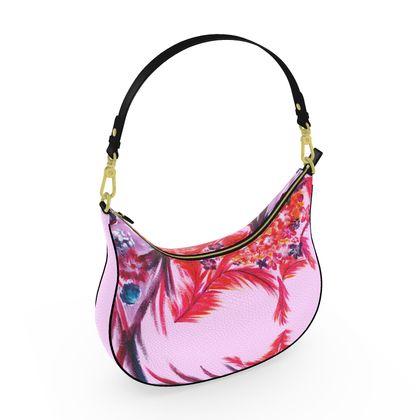 CURVE HOBO BAG  | Candy bloom |