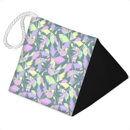 Door Stopper, Lilac, Green, Leaf   Moonglow, Frozen Stream
