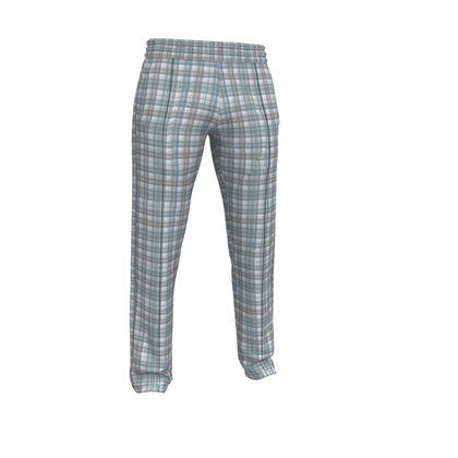 Mens Tracksuit Trousers Plaid 2