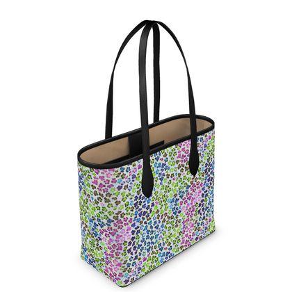 Leopard Skin Multicoloured Collection Leather City Shopper