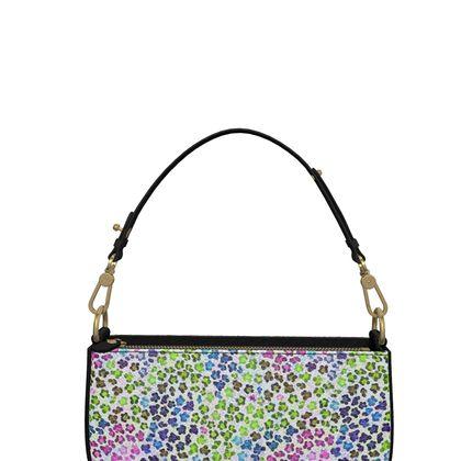 Leopard Skin Multicoloured Collection Zip Box Bag