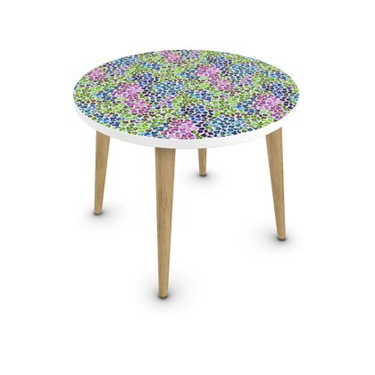 Leopard Skin Multicoloured Collection Coffee Table