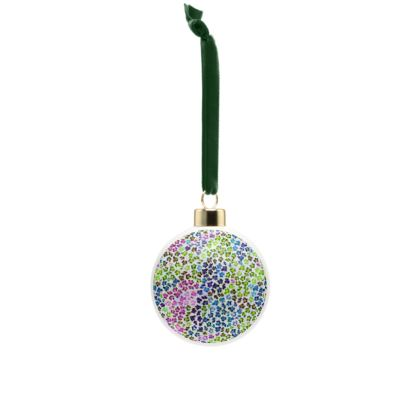 Leopard Skin Multicoloured Collection Bone China Baubles