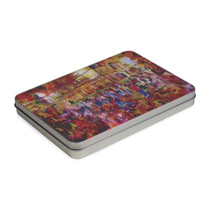 Artistic Tin Box