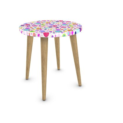 Atomic Collection Side Table