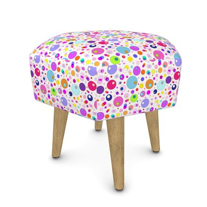 Atomic Collection Footstool (Round, Square, Hexagonal)