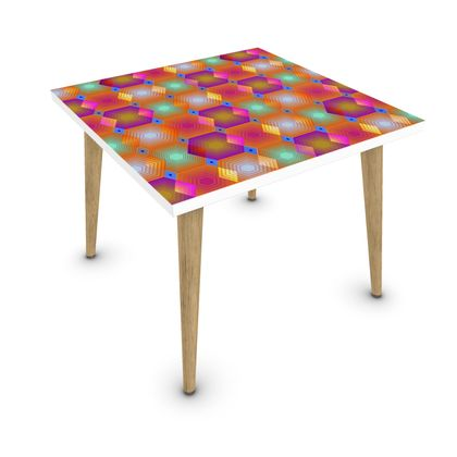 Geometrical Shapes Collection Coffee Table