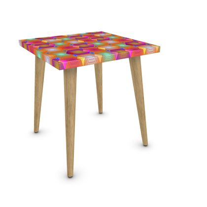 Geometrical Shapes Collection Side Table