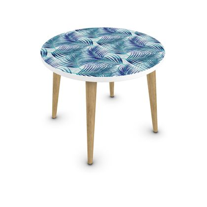 Tropical Garden in Blue Collection Coffee Table