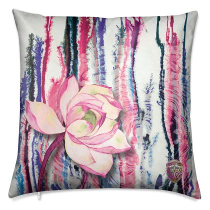 Pink Ink Luxury Cushion