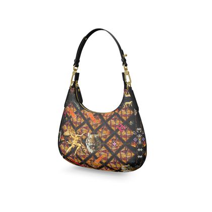SARIA Mini Curve Bag, Micro Satteltasche, Mini Schultertasche