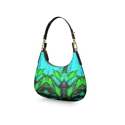 Palm Beach Mini Curve Bag, Micro Satteltasche, Mini Schultertasche