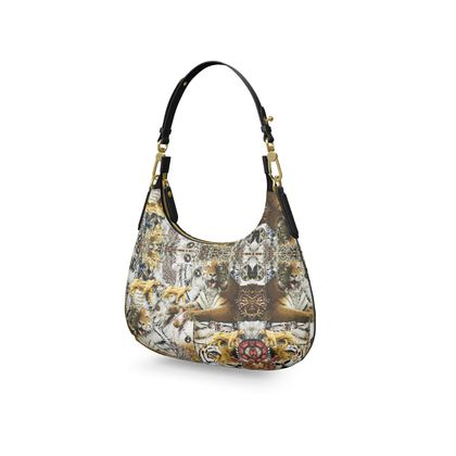SARIA XI Mini Curve Bag, Micro Satteltasche, Mini Schultertasche