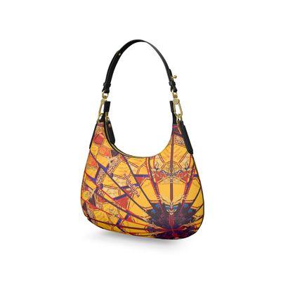 CURRY XI Mini Curve Bag, Micro Satteltasche, Mini Schultertasche