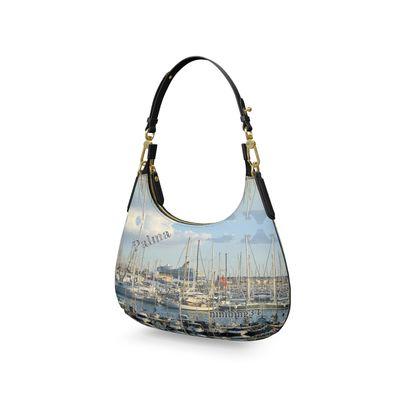 PALMA Mini Curve Bag, Micro Satteltasche, Mini Schultertasche