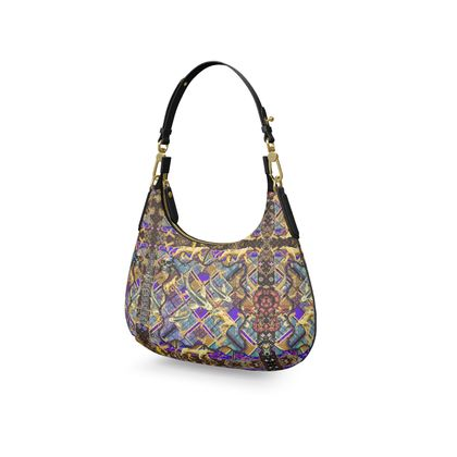 Silver Koi Saria IVMini Curve Bag, Micro Satteltasche, Mini Schulterta