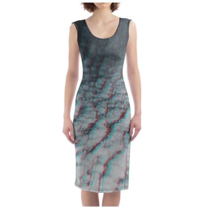 "Bodycon Dress ""Clouds in Aspic"""