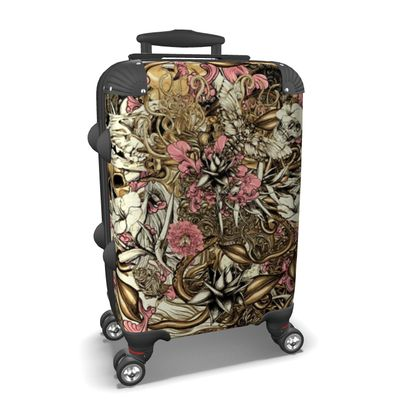 Sixth Mix Gold Art Suitcase