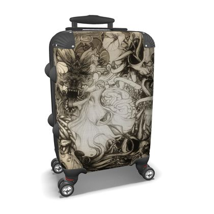 Second Mix Brown Suitcase