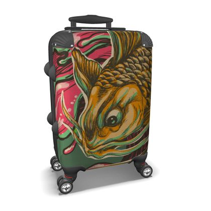 Japanese Fish Suitcase