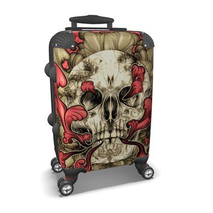 Tattooed Skull Suitcase