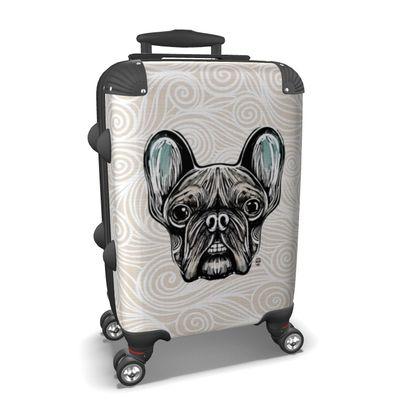 French Bulldog Smilling Suitcase
