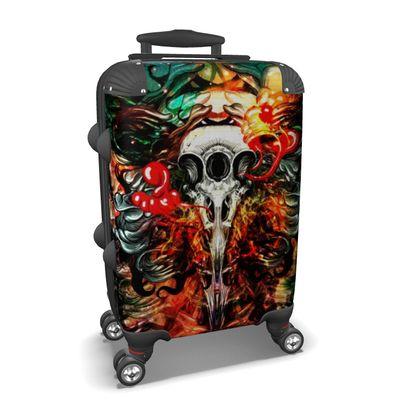 3 Eye Raven Suitcase