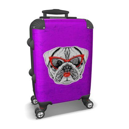 Lady Pug Suitcase