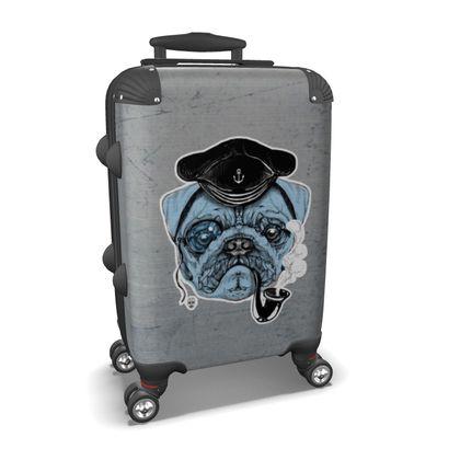 Sailor Pug - Suitcase