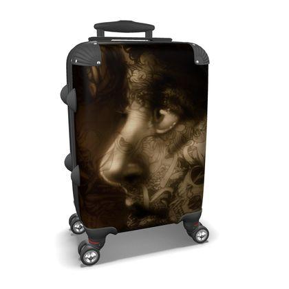 Sad Girl Suitcase