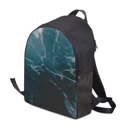 "Backpack ""Marbled Ice"""