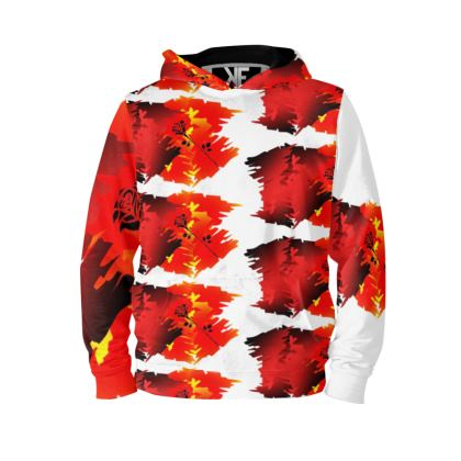 Hot Like fire Trevieno Music Hoodie