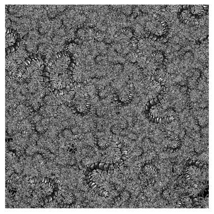 Contipede Party Kimono