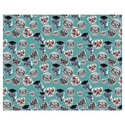 Pug Pattern Kimono