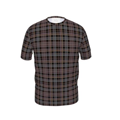 Mens T-Shirt Plaid 1