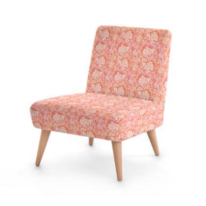 Occasional Chair, Orange, Leaf  Oaks  Mandarin