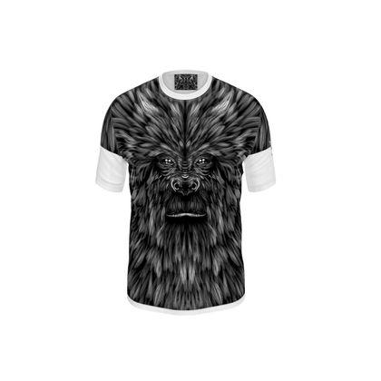 Ape bw Cut and Sew T Shirt
