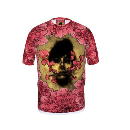 I am Serious with flowers Cut and Sew T Shirt