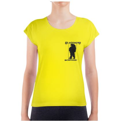 BlackMobb Entertainment Yellow  Ladies T Shirt